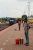 HGC WDM3A 16469 arrives into Jagi Road with 15670 0600 Dimapur - Guwahati Jn
