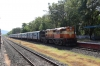 ERS WDG3A 13498 at Ankona with 56640 0530 Mangalore Central - Madgaon Jn