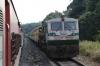 GOC WDP4D 40103 arrives into Kulashakara with 12620 1425 Mangalore Central - Lokmanya Tilak Terminus