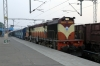 VSKP WDM3D 11511 waits departure from Khurda Road with 58429 0645 Khurda Road - Rajsunakhala; newly opened line