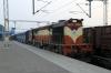VSKP WDM3D 11511 waits departure from Khurda Road with 58429 0645 Khurda Road - Rajsunakhala; newly opened line