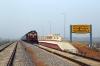 VSKP WDM3D 11511 waits departure from Rajsunakhala with 58430 0825 Rajsunakhala - Khurda Road Jn