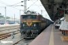 VSKP WAG5 23880 at Puri after arrival with 58413 0515 Talcher - Puri
