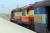 VSKP WDM3A 16051 waits to depart Puri with 18304 1535 Puri - Sambalpur Jn