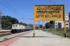 LGD WAP7 30582 runs through Lottegollahalli with 17603 2105 (P) Kacheguda - Yesvantpur Jn
