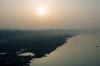 Sunrise near Orai, Uttar Pradesh