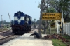 TKD WDP1 15045 runs round at Farukh Nagar after arrival with 14546 0605 Saharanpur - Farukh Nagar