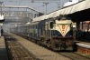 MLDT WDM3A 16514 arrives Rajendranagar with 13234 0845 Danapur - Rajgir Express