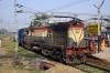 HWH WDM3A 16060 at Bakhtiyarpur Jct with 53043 1110 (04/03) Howrah - Rajgir passenger