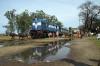 TKD WDP1 15050 at Sambhal Hatim Sarai after arrival with 54398 1220 Moradabad - Sambhal Hatim Sarai passenger