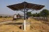 LDH WDM3A 18871 waits at Ootwad with 54791 1325 Mathura Jct - Bhiwani