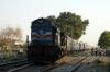 GD WDM3A 16025 arrives into Alwar Jct with 15013 0630 Bhagat Ki Kothi - Kathgodam