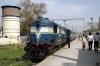 TKD WDP1 15001 at Najibabad Jct after arrival with 54388 1240 Kotdwara - Najibabad Jct passenger