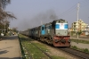 LKO WDM3A 16304 powers through Jwalapur with 14116 1620 Haridwar - Allahabad Jct