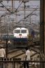 SGUJ WDP4 20003 arrives Delhi Jct with 15609 2130 (10/03) Guwahati - Lalgarh Avadh Assam Express