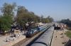 GD WDM2 16887 prepares to depart from Salempur Jct with 55105 0900 Salempur - Barhaj Bazar passenger