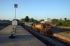KTE WDG3A 14557 waits departure from Jaunpur Jct with 54376 1700 Jaunpur Jct - Prayag Jct