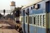 ABR WDM2 16871 departs Bhagat Ki Kothi with 54803 0845 Jodhpur - Ahmedabad Jct