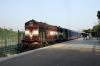 TKD WDM3A 14136 stabled at Bhagat Ki Kothi with the Royal Rajasthan on Wheels tourist train