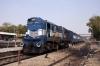 ABR WDM3A 18987 waits at Jodhpur with 54815 1510 Jodhpur - Barmer
