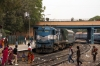 ABR WDM3A 14016 at Rai Ka Bagh Palace Jct with 54819 0830 Jaisalmer - Jodhpur