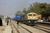 BGKT WDG4 12839 runs through Makrana Jct with a goods train