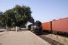 ABR WDM3A 14014 departs Phulera Jct with 12467 0600 Bikaner Jct - Jaipur Jct