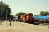 VTA WDG3A 13484 arrives at Phulera Jct with 19263 1510 (P) Porbandar - Delhi Sarai Rohilla