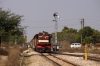 FL YDM4 6729 arrives into Chomun Samod with 52084 1210 Sikar Jct - Jaipur Jct