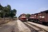 Chomun Samod (L-R) FL YDM4 6729 arrives with 52084 1210 Sikar Jct - Jaipur Jct while FL YDM4 6656 waits departure with 19735 1330 Jaipur Jct - Sikar Jct IC Exp