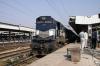 ABR WDM2 16871 prepares to depart Agra Cantt with 19666 2200 (P) Udaipur City - Khajuraho