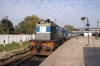 LKO WDM3D 11268 at Kanpur Central with 14723 1705 Kanpur Central - Bhiwani Jct
