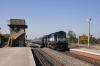 ABR WDM3A 18659 arrives at Mavli Jct with 59604 0940 Udaipur city - Ajmer Jct