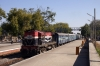 RTM WDM3A 16159 departs Mavli Jct with 59835 0715 Neemach - Udaipur City