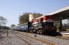 RTM WDM3A 16173 departs Ranapratapnagar with 59836 1455 Udaipur City - Neemach