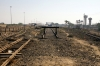 Remains of the Bhuj - Naliya MG section at Bhuj; the line was closed in 2010