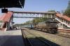 UBL WDP4B 40007 runs through Sabarmati Jct with 16533 0540 Bhagat Ki Kothi - Bangalore City