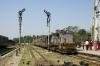 SBI YDM4 6295 arrives at Sabarmati Jct with 52907 1210 Mahesana Jct - Ahmedabad Jct
