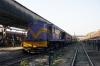 SBI YDM4 6557 at Ahmedabad Jct after arrival with 52919 1350 Himmatnagar - Ahmedabad Jct