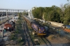 SBI YDM4 6402 arrives into Ahmedabad Jct with 52909 1430 Mahesana Jct - Ahmedabad Jct