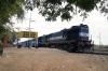 RTM WDM3A 16811 waits to depart Mahuva with 59244 1025 Mahuva - Rajula City