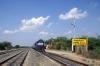 RTM WDM3A 16811 waits to depart Rajula Jct, after running round, with 59244 1025 Mahuva - Rajula City