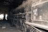 Wankaner Jct abandoned steam shed - YG 4129 & YP 2825