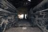 Wankaner Jct abandoned steam shed - (L) YP 2150 & (R) YG 4129 & YP 2825 (furthest)