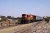 VTA WDG3A 13515 arrives at Rajkot Jct with 12906 2255 (PP) Howrah - Porbandar