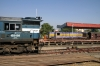 Veraval Jct - RTM WDM3A 16849 waiting its next turn and SBI YDM4 6394 waiting departure with 52949 1620 Veraval Jct - Delvada