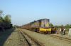 SBI YDM4 6323 arrives into Talala Jct with 52930 1205 Dhasa Jct - Veraval Jct