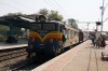 BL WCAM3 21824 departs Anand Jct with 59441 2240 (P) Mumbai Central - Ahmedabad Jct