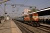 ERS WDM3A 14046 runs through Anand Jct with 16311 2040 (P) Bikaner Jct - Kochuveli