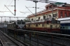 BRC WAG5's 23167 (L) & 23168 (R) wait their next turns at Indore Jn